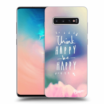Obal pre Samsung Galaxy S10 Plus G975 - Think happy be happy