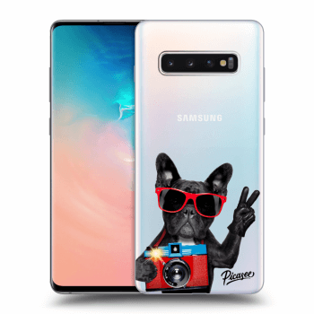 Obal pre Samsung Galaxy S10 Plus G975 - French Bulldog