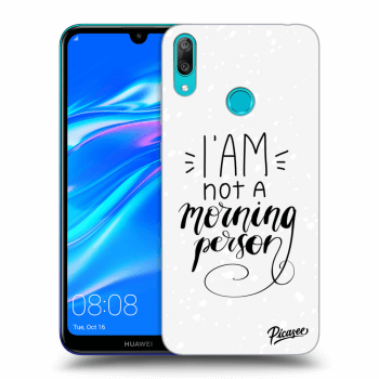 Obal pre Huawei Y7 2019 - I am not a morning person