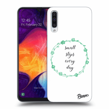 Obal pre Samsung Galaxy A50 A505F - Small steps every day