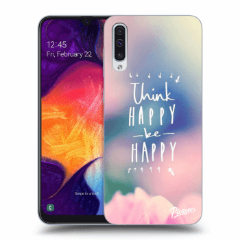 Obal pre Samsung Galaxy A50 A505F - Think happy be happy
