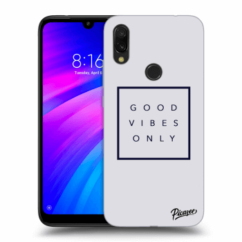 Obal pre Xiaomi Redmi 7 - Good vibes only