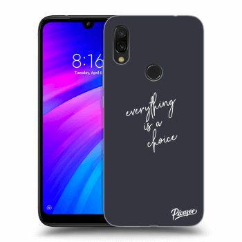 Obal pre Xiaomi Redmi 7 - Everything is a choice