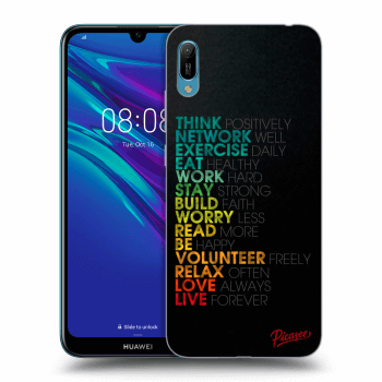 Obal pre Huawei Y6 2019 - Motto life