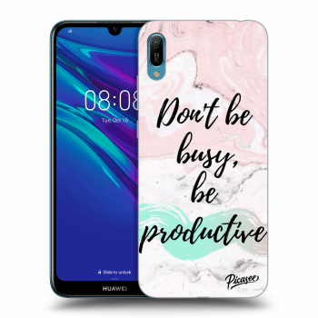 Obal pre Huawei Y6 2019 - Don't be busy, be productive
