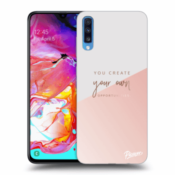 Obal pre Samsung Galaxy A70 A705F - You create your own opportunities