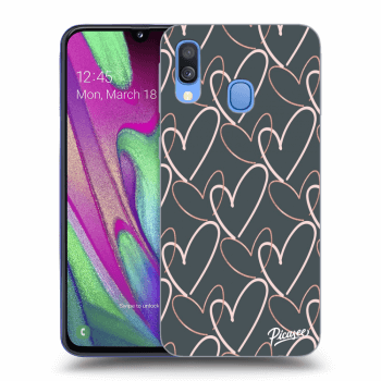 Obal pre Samsung Galaxy A40 A405F - Lots of love